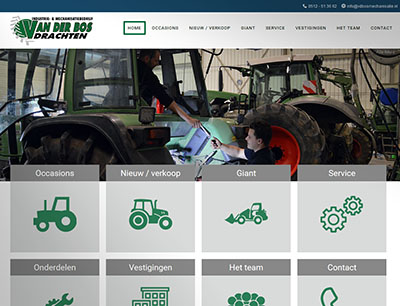 website van der bos mechanisatie 400