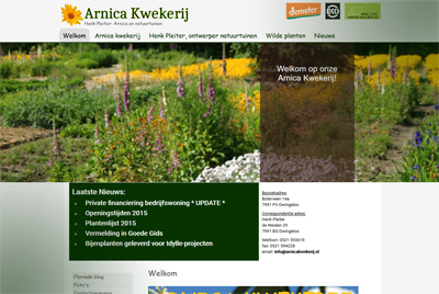website arnica kwekerij 400