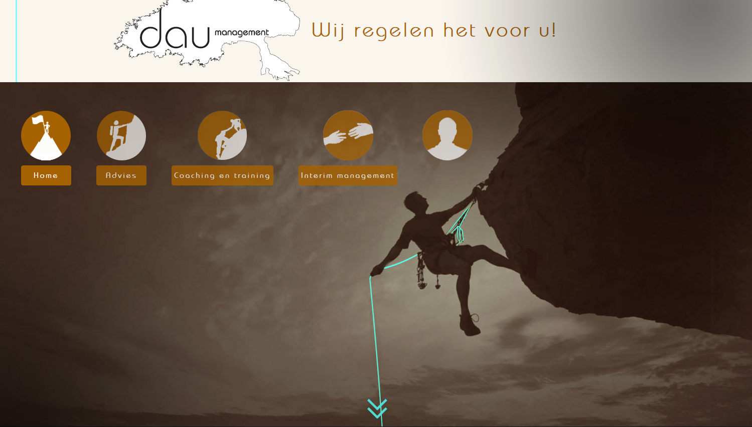 Nieuwe website Dau Management
